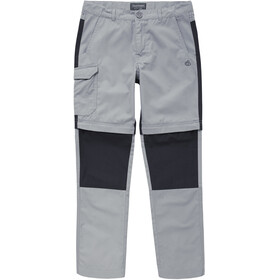 Craghoppers Kiwi Convertible Trousers Children cement